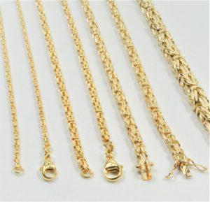 b1a1e4b058e4 14 kt Guld kongekæde halskæde 45 cm - Ure-smykker din lokale urmager ...