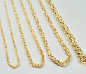 2c018edbadf 14 kt Guld kongekæde halskæde 55 cm - Ure-smykker din lokale urmager ...