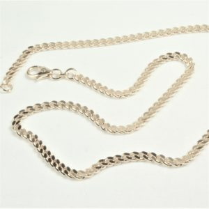 e68c9e6e78e7 14 kt Hvidguld Panser Facet halskæde 70 cm - Ure-smykker din lokale ...