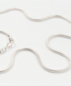 BNH sølvkæde slangekæde