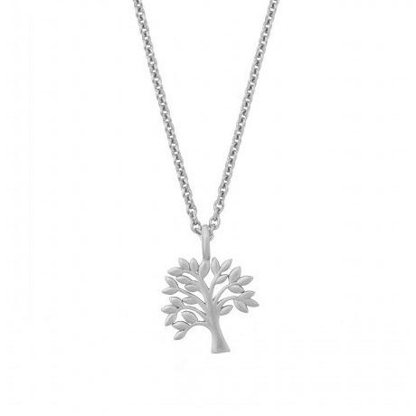 2b7fd3bd2e3 Tree of Life sparkle halskæde - Sølv - Ure-smykker din lokale ...